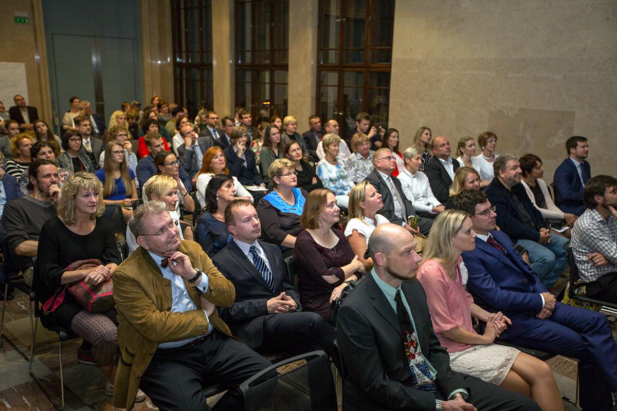Slavnostní vyhlášení vítězů Global Teacher Prize Czech Republic 2017